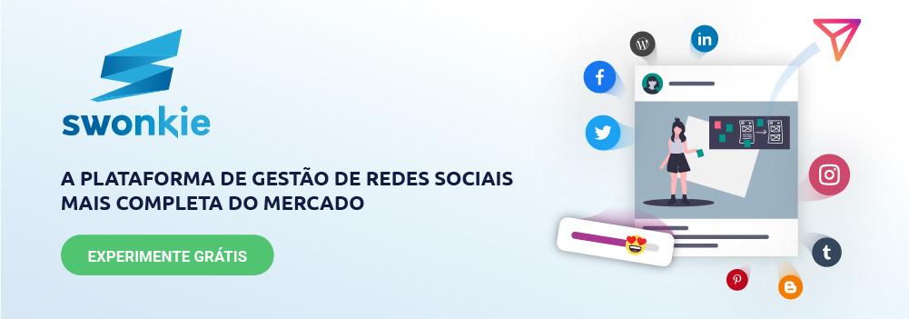 Plataforma de Gestão Redes Sociais
