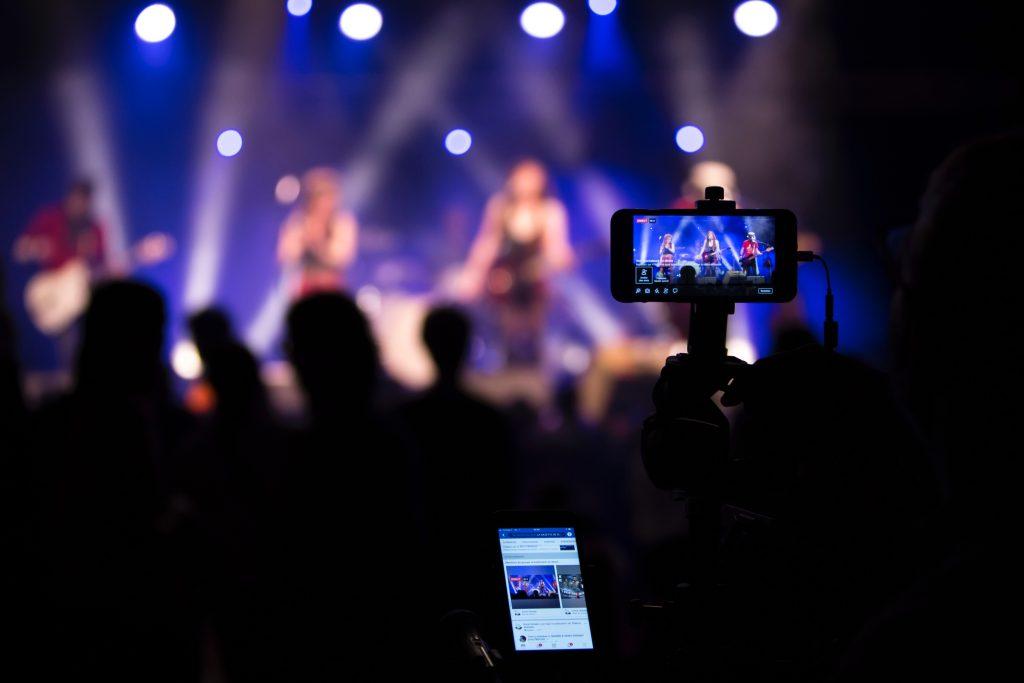 live stream para redes sociais
