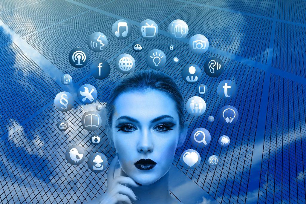 Utilização das redes sociais.