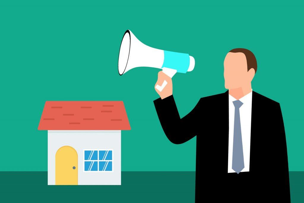 Criar conteúdo no marketing imobiliário.
