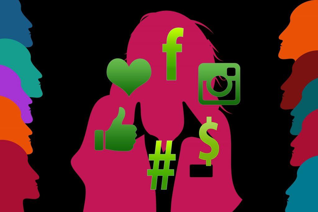 Hashtag nas redes sociais