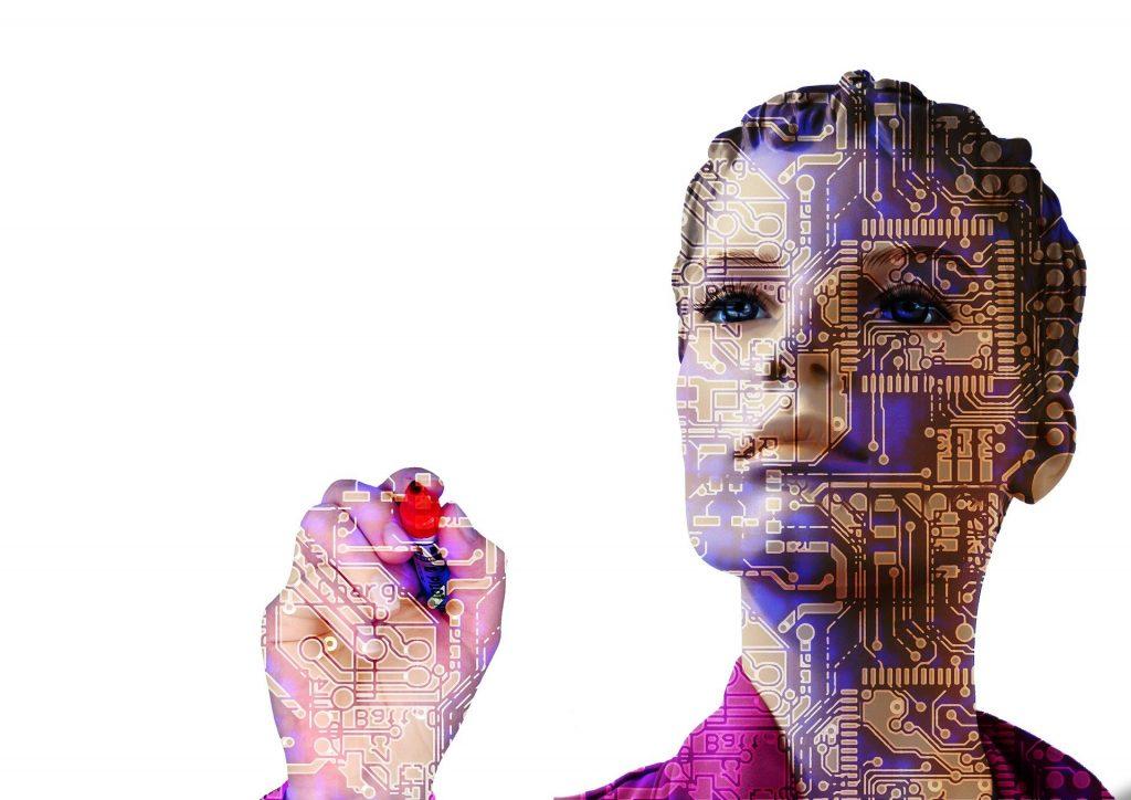 Robô da inteligência artificial