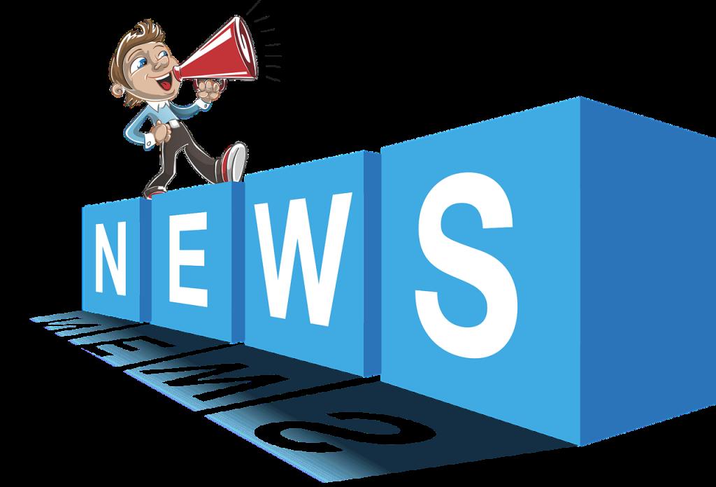Entrega de novidades através da newsletter