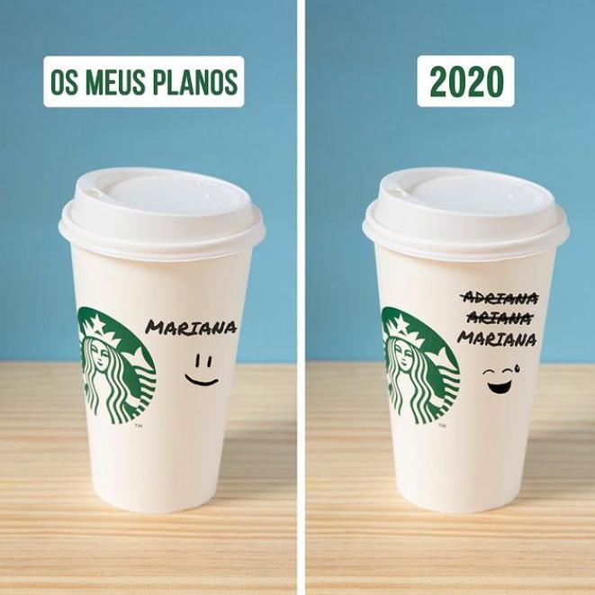 Imagem da Starbucks do S Shareble de Social Media