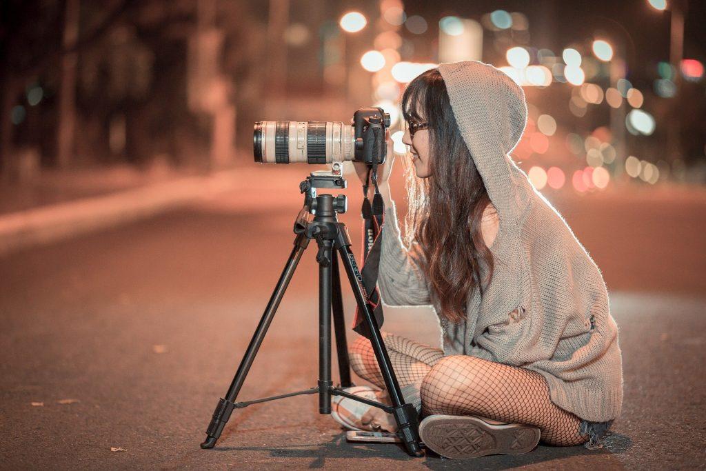 câmara para vídeo